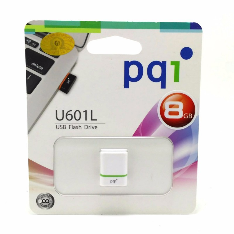 PQI U601L USB Flash Drive - 8GB